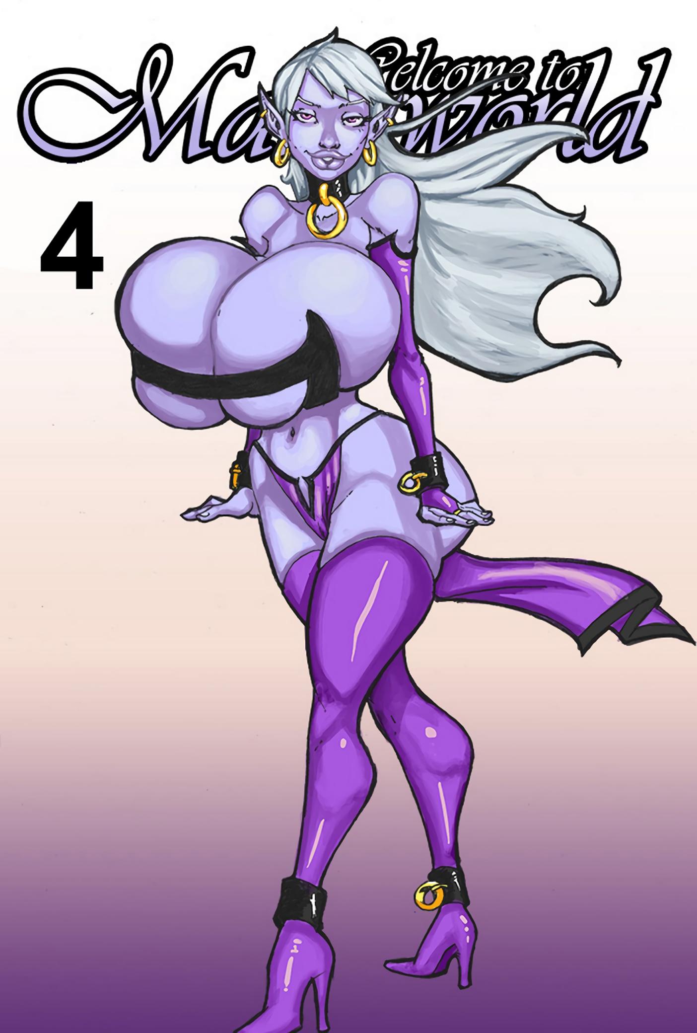 Секс комиксы - Mana world 4 Большая грудь, Анал, Большие члены