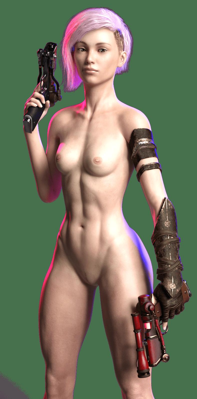 Порно Cyberpunk 2077, подборка Без цензуры, Большая грудь, Лесбиянки, По играм, Фемдом