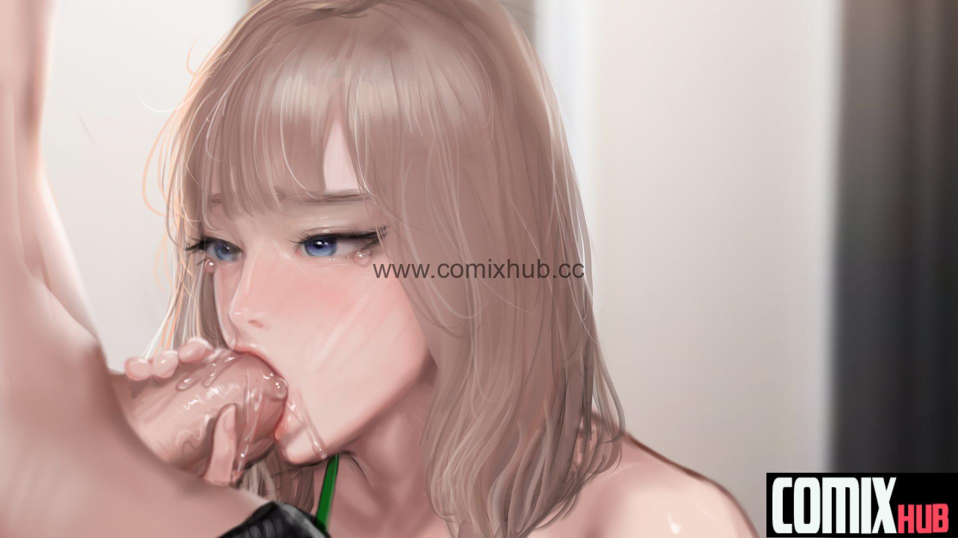 Секс с косплей девушкой в ее комнате, часть 1 Порно комиксы, Большие члены, Минет, Хентай манга, манхва