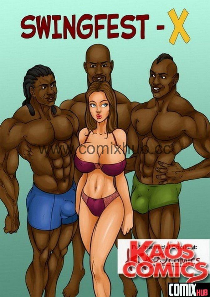 Порно комикс - СвингерФест - X Порно комиксы, Анал, Большая грудь, Большие члены, Групповой секс, Двойное проникновение
