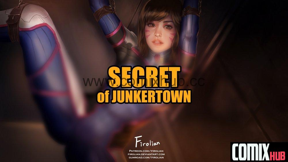 Порно комикс по игре Овервотч. D.Va - Secret of Junkertown Порно комиксы, Большие члены, Насилие