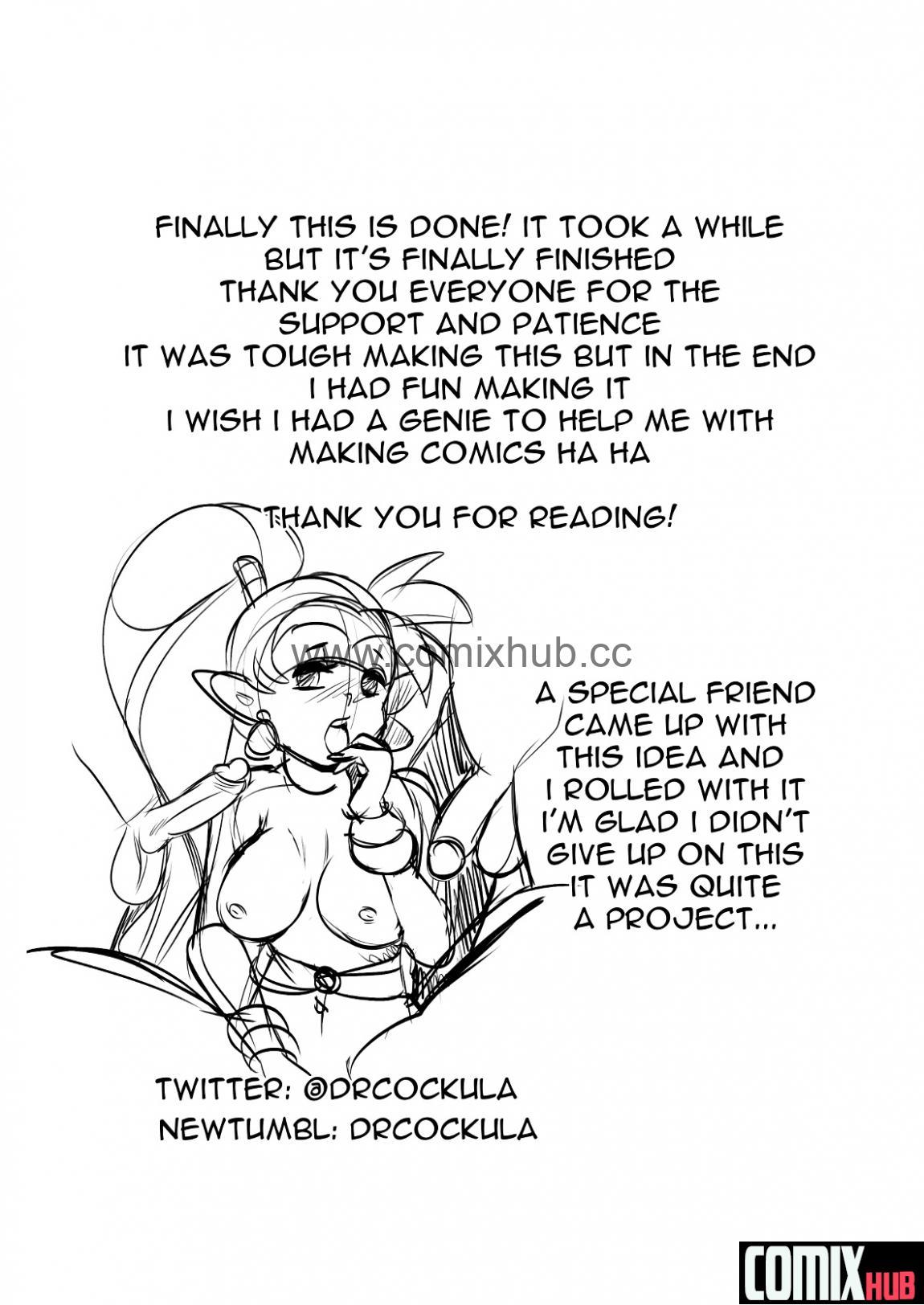 Порно комикс, Шантэ и три желания Порно комиксы, Анал, Групповой секс, Двойное проникновение