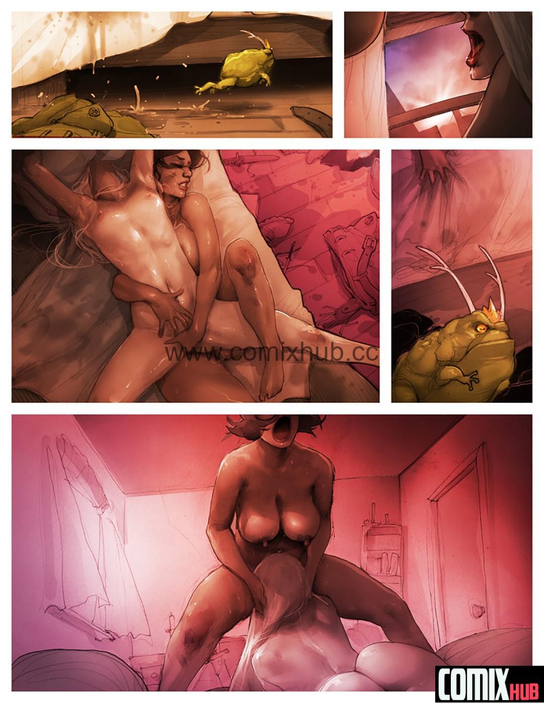 Порно комиксы, Мои скитания в поисках правды и любви Порно комиксы, Анал, Большая грудь, Большая попа, Двойное проникновение, Лесбиянки, Мастурбация